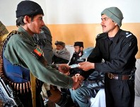 ALP Pay Day in Afghanistan
