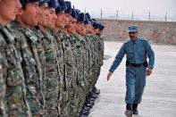 APPF Security Guards for Tarakhil Power Plant in Afghanistan March 2012