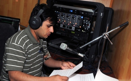 Radio in a Box DJ in Logar Afghanistan