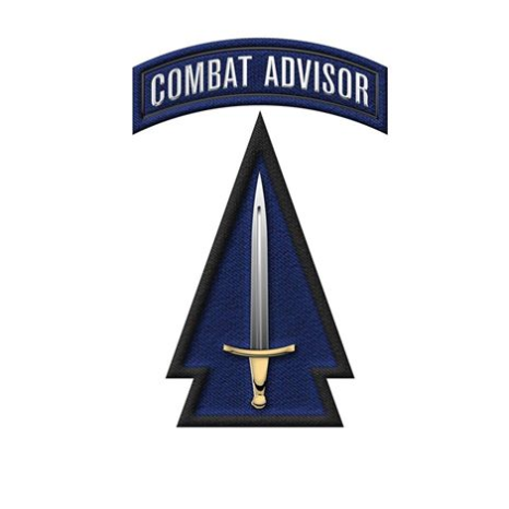 1st SFAB Shoulder Patch and Tab