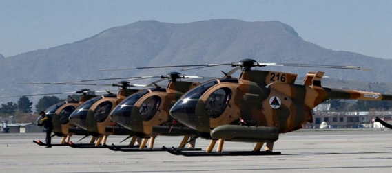 MD-530 Helicopters of Afghan Air Force (AAF)