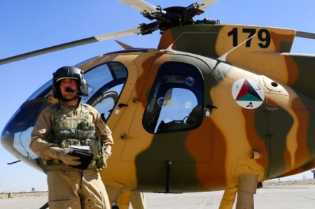 MD-530F Helicopter of Afghan Air Force (AAF)