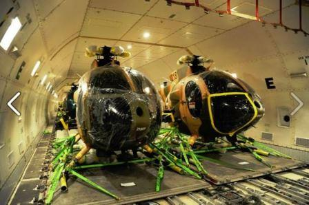 MD-530 Helicopters of AAF