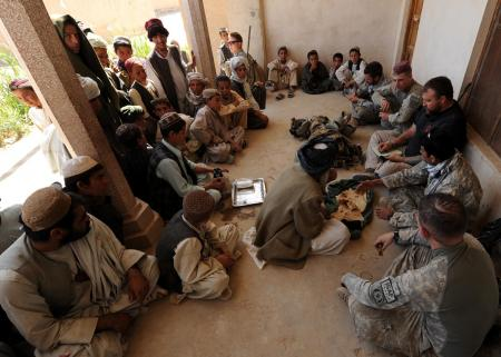 Human Terrain Team Key Leader Engagement in Kandahar, Afghanistan