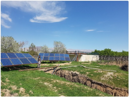 Solar Power Water Pump in Afghanistan USAID