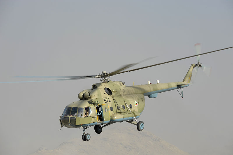 Afghan Mi-17 Helicopter