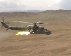 Afghan Mi-35 HIND Attack Helicopter