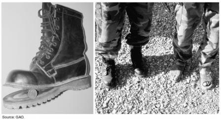 Defective Boots for Afghan National Army