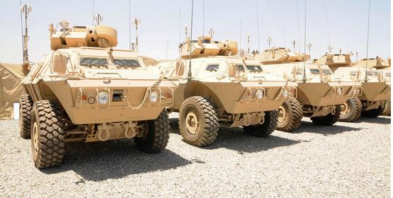 Mobile Strike Force Vehicle (MSFV) Afghanistan