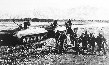 Soviet Troops in Afghanistan