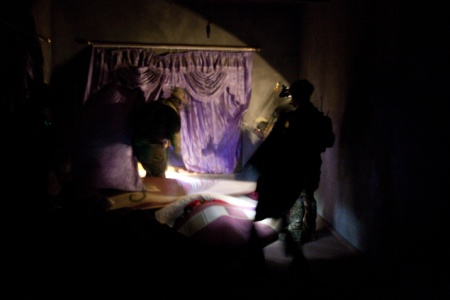 Night Raid by Afghan Forces in Afghanistan
