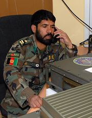 Afghan OCC Radio Communications