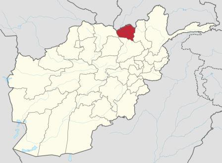 Map of Kunduz Province