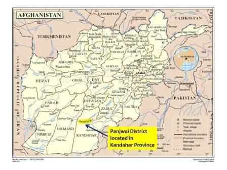 Panjwai District Kandahar Province